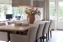 Keuken / Eetkamer / De Huiskamer Styling ideeën voor de keuken. www.de-huiskamer.nl