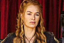 Okay, I confess.  ♥ / Lena Headey and the characters she portrays............  I'm pretty much completely powerless against them all.