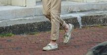 How to Wear:  Jean-Cut Khakis / Combine the universally acceptable neatness of khakis with the vibe of a jean by switching to a khaki chino.  Here are a few of our favorite looks.