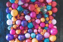Globos - IDEAS - / #globos #decoaraciondefiestas #backdrop #ballons