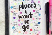 Planeadores - planners - IDEAS - / Detalles y hermosos ejemplos inspiradores para esa bella afición de planear todo.