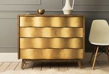 Going for #Gold / In celebrate of our first Rio #olympic gold medal, we're adding a metallic twist to your space and going for gold!