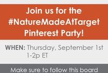#NatureMadeAtTarget Pinterest Party / Be sure to join us for our Pinterest Party on Thursday, September 1st from 1-2 PM ET to learn about Nature Made® KIDS FIRST® Gummies! #client  For more information: http://bit.ly/2bW2mN9
