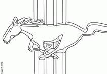 Ford - Coloring Pages / Coloring Pages with Fords & Mustangs