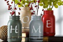 Ιδέες για βαζάκια - Mason jar ideas