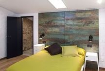 Diseño y decoracion Casa G&A / Proyecto y reforma de una antigua casa en un pueblo de Lérida. Diseño y decoración en base al estilo industrial.