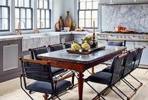 Designer Kitchens / A board that brings together all the uniquely designed kitchen ideas on Pinterest! From interior designers, to architects, to the everyday weekend warrior!