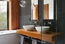 Designer Bathrooms / A board that brings together all the uniquely designed bathroom ideas on Pinterest! From interior designers, to architects, to the everyday weekend warrior!