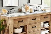 Designer Bathroom Vanities / A board that brings together all the uniquely designed bathroom vanities on Pinterest! From interior designers, to architects, to the everyday weekend warrior!
