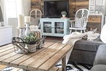 Designer Living Rooms / A board that brings together all the uniquely designed living room ideas on Pinterest! From interior designers, to architects, to the everyday weekend warrior!