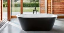 Freestanding Bathtubs / The free-standing baths makes an architectural statement, and facilitates individual designs of bathrooms and living rooms.