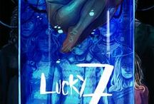 Lucky 7 / Elena Nevares is on the run. She's a jacker, someone who connects to virtual reality with their brain, and her crew was murdered during a mission gone wrong. Sasha Young is planning a rescue. She's a handler, a team leader whose crew has been scattered by an evil corporation: Axys Generations. Together, they must find the rest of Sasha's crew and go on their most dangerous mission yet—not for credits or tech, but to save the world.