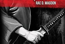 Book Covers / Book covers for Rae D. Magdon's novels, by Rachel George Illustrations.