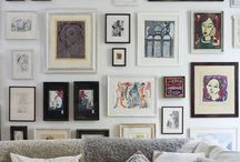 gallery wall. / by Alyssa Hoffman