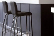 Stella 1 - Italian Counter Barstools / There are 2 designs of Stella Stools :- 1)The Stella 1 - Four Leg Fixed Height Stool and 2)     The Stella 2 Adjustable (Gas Lift) Swivel Stool.  Both stools have the same seat, which is well padded and extremely comfortable, with good back support. There are 26 colours of Premium Quality Italian Leather plus 30 colours of Eco Leather.  We show some images, but some of the on-line colours are not accurate. We can post sample cards if you want to check the colours with your décor.