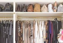 closet spaces. / by Alyssa Hoffman