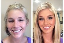 Before and After Hair and Makeup Transformations by Elite Makeup Designs   Calabasas, CA / Photos of beauty transformations done by makeup artist Brittany Renee of Elite Makeup Designs.
