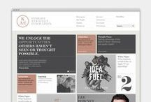 Visual Library • Websites / by Jen_Devonshire