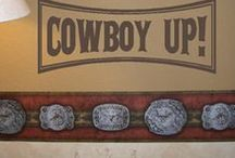 Boy's Cowboy Room / DIY Ideas for a cowboy room for younger boys
