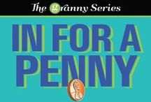 Cozy Mystery/Women's Fiction: The Granny Series / Book #1 - In For a Penny, Book #2 - Fit to Be Tied Jenny & Teague Novella #1 - Always on My Mind