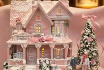C is for Christmas Village