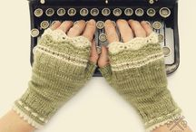 M is for Mittens and Gloves / Things to keep hands warm on a chilly day.