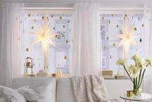 Inspirace na vánoční výzdobu / Nápady na vánoční vyzdobení domu