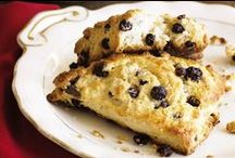 Muffins & Scones / Amazing baked goods that would be perfect with our Royal Harvest™ dried fruit products - the ultimate baking fruit!
