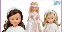 Muñecas de Comunión / En nuestra web puedes encontrar un amplio surtido de muñecas de Comunión de distintas marcas.