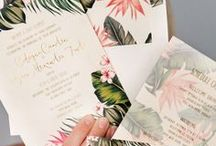 Invitations, postcards