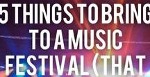Music Festival Packing List! / A list of everything you WISH you would have brought to that music festival!