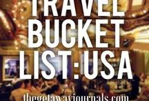 Bucket List / My ultimate bucket list of everywhere in the world I want to go! And it is constantly growing.
