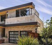 Fachadas de piedra para exteriores modernos
