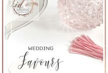 Wedding Favours / You don't NEED to have Almond sweets in an Organza bag! Check out these ideas!