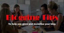 blogging tips / Blogging tips for begginers and those looking to monetise thier blogs. includes tips on how to start affiliate marketing and increase your blog traffic through SEO and social media.