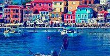 Colorful houses..-kolorowe domy