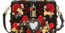 Handbags with ornaments..- torebki z ozdobami