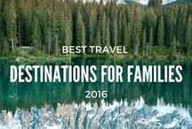 The Best Destinations for Families / Kid-friendly travel destinations with exciting and fun activities for all ages can be hard to find. Here are some of the top destinations for you and your family with tons of adventures for all ages. These vacation spots are guaranteed to be kid and parent approved. Destinations that will drive you to finish or begin your bucket list and motivate the little ones to want to travel again and again and again...... Don't miss these best destinations for families!