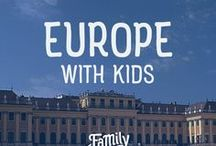 Europe Travel / Planning a family trip to Europe soon? Find the best travel tips on what to do, where to stay, and how to travel Europe for cheap...with your kids!  Tips on packing, wardrobe essentials, best places for photos, travel with kids and so much more! Let The Family Backpack assist you in creating the ultimate Eurotrip for your family!
