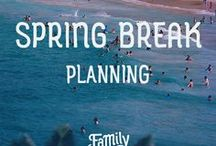 Spring Break Ideas / Spring Break for kids and for teens, is a long awaited and anticipated time of the year! No school, no homework- how could it get any better? Find out how to plan the best spring break for your family! We have information on spring break destinations, activities, and how to keep it cheap!