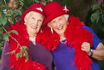 Getting Older: Red Hat Society / by LindaDavid Hardison
