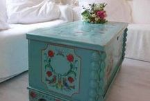 Painted Furniture  / Reinventing furniture with paint