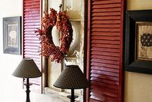 Shutter decor / wonderful ideas for decorating with shutters