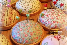 Pin Cushions / a place to stick those sewing pins and needles