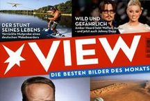 Cover - VIEW / Hier siehst Du die Cover aller VIEW Ausgaben.