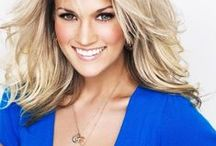 Carrie Underwood / My idol..I just love everything about her and I have so much respect for her! / by Bailey Leftwich