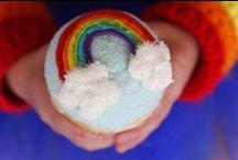 Rainbow Party Ideas / Rainbow Party Ideas, Free Printables, Rainbow party for kids