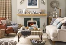 Home Interiors / Beautiful interiors and homes - classic with a modern twist.