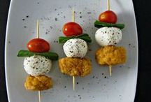 Appetizers, Finger foods & Hor d'oeuvres