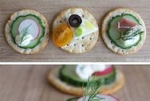 Delicious Cracker Hors d'Oeuvres - Breton Bean Recipes / Easy to make cracker hors d'oeuvres made with gluten-free Breton Bean crackers! / by The DIY Dreamer